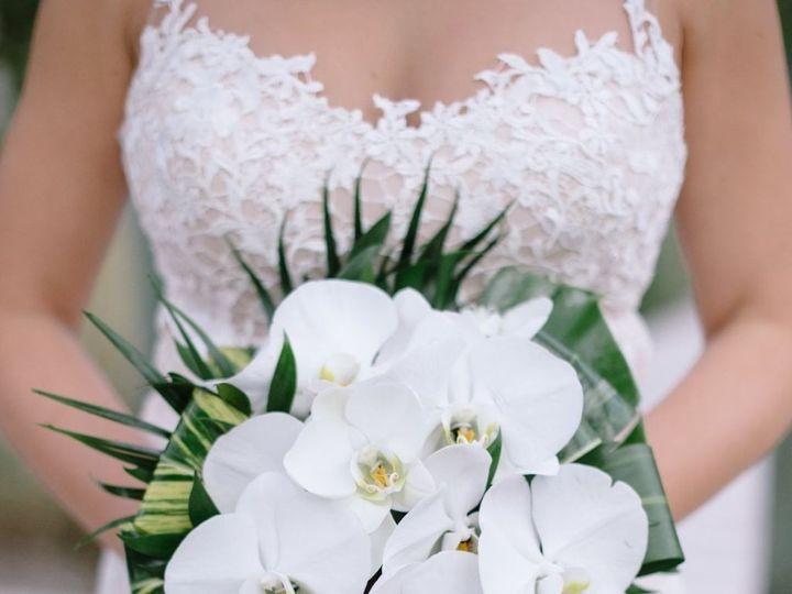 Tmx Bouquet Cascade Phals Tropical Greens 51 703664 158981812328869 Stuart, FL wedding florist