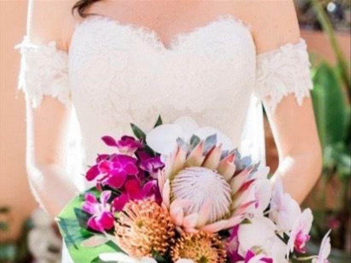 Tmx Bouquet Cascade Protea Orchids Succulents 51 703664 158981812580218 Stuart, FL wedding florist