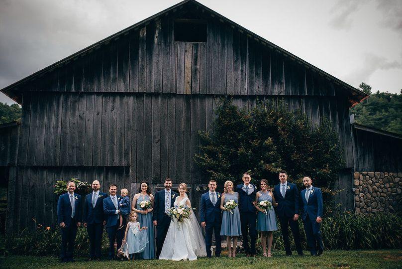 The old hay barn