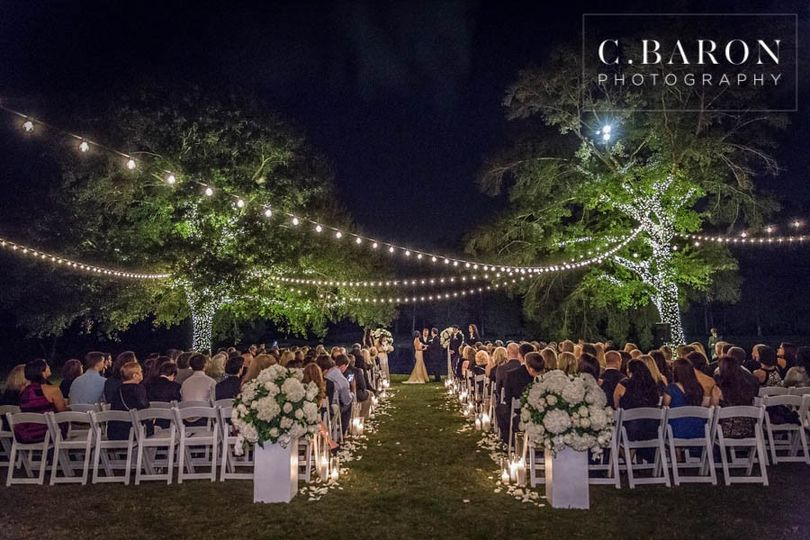 Outdoor Evening Ceremony