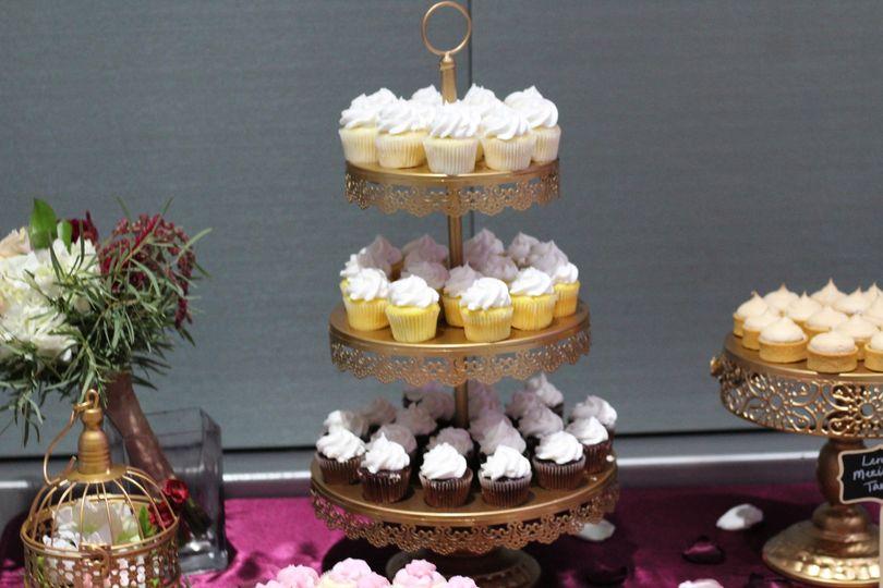 Dessert Table (mini cupcake)