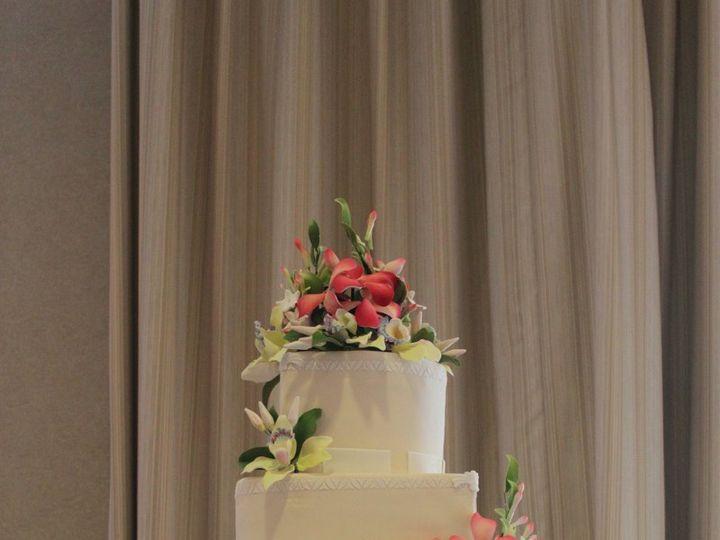 Tmx 1343876666259 IMG6572 Hampton, Virginia wedding cake