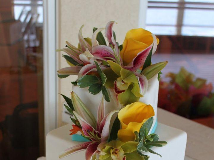 Tmx 1343876719595 IMG6934 Hampton, Virginia wedding cake