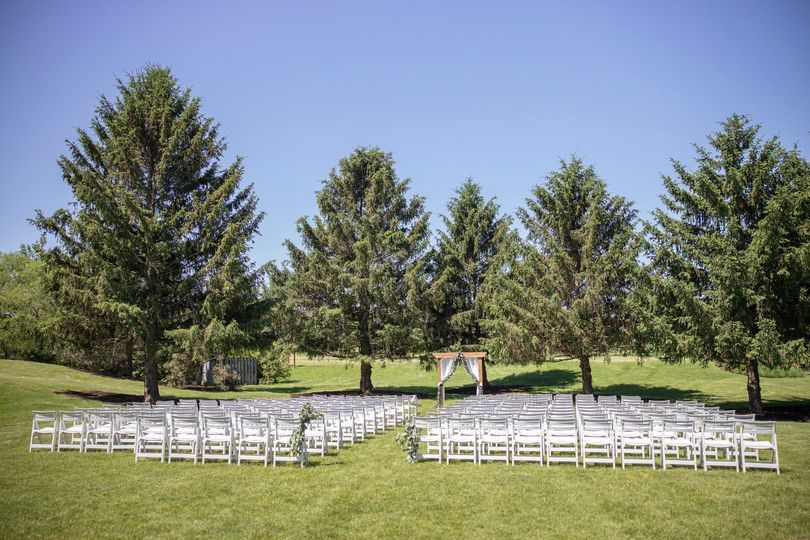 Ceremony on West Lawn