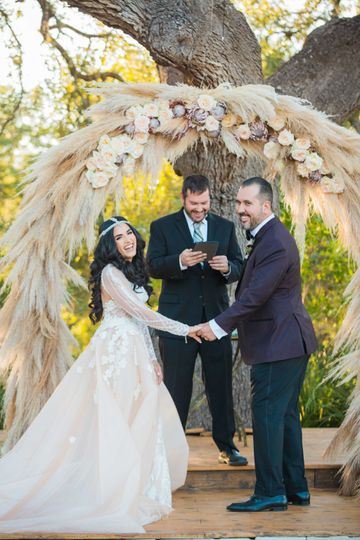 Vow exchange at Park 31