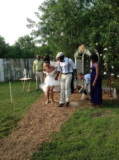 Jumping the Broom 7/2016