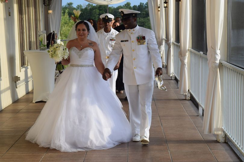 A military wedding, Crystal Ballroom On the Lake Summer 2016