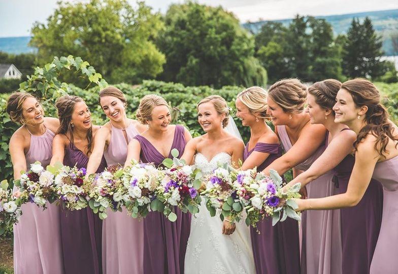 Summer bridal bouquets