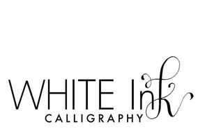 White Ink Calligraphy