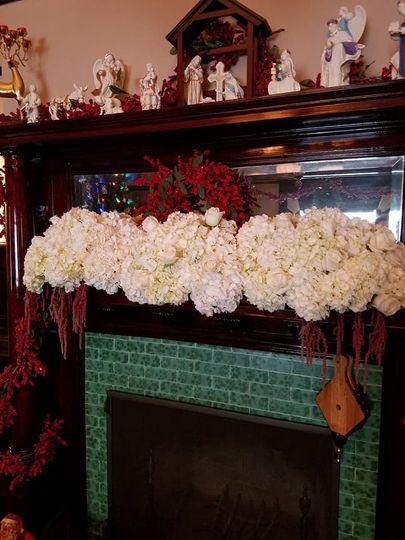 Large white blooms