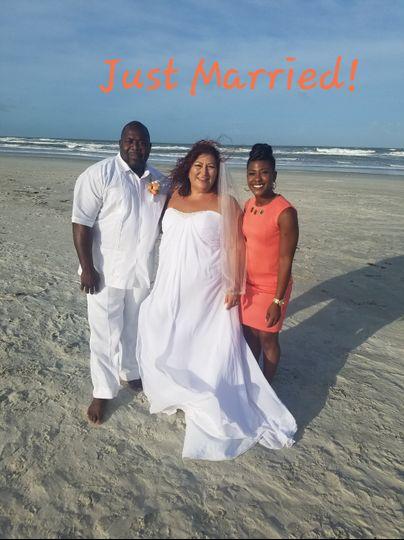 Elope Beach wedding