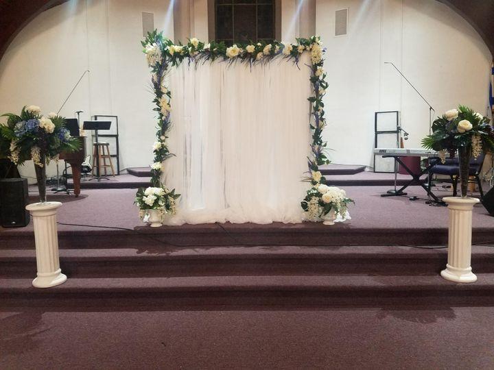 Pop up Church wedding