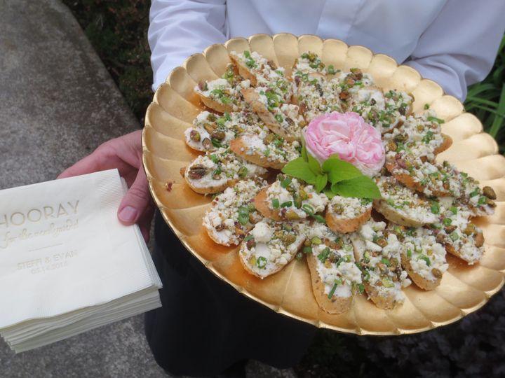 Gorgonzola & Pistachio Crostini