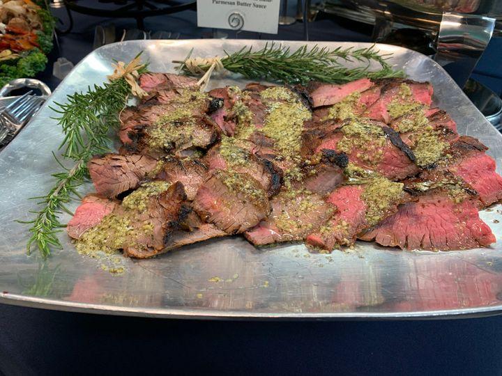 Grilled fland steak- yum!