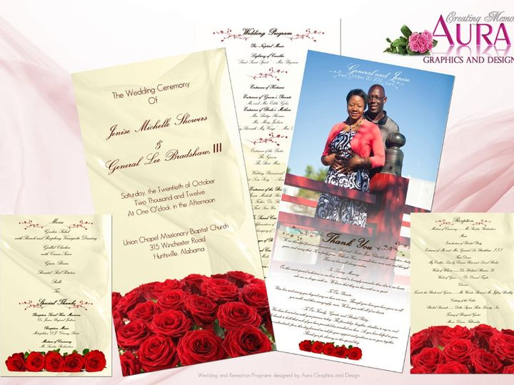 Tmx 1351194126724 ShowersBradshawWeddingProgramscopy Harvest wedding invitation