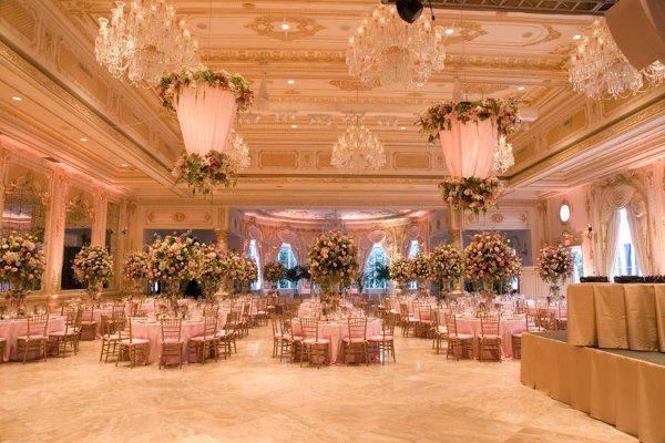 Ivana Trump's Reception Ballroom at Mar A Lago.