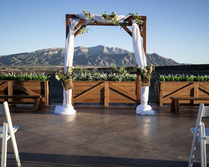 Cedar Greens ceremony space