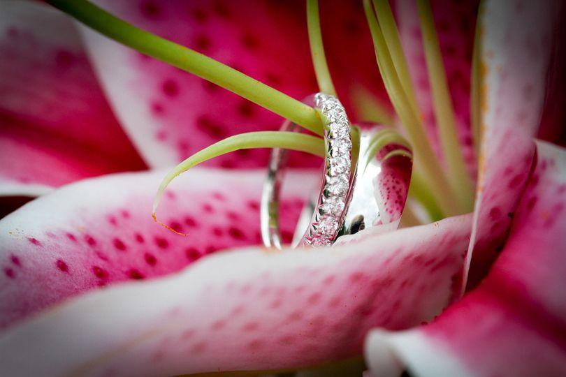 flower ring shot