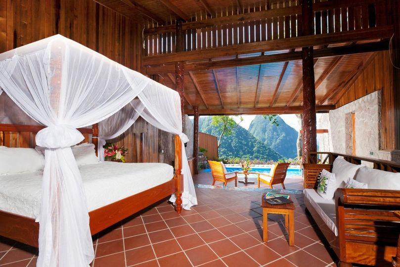 Discover a 5-star experience at Ladera Resort.  The only resort in St. Lucia located on a UNESCO...