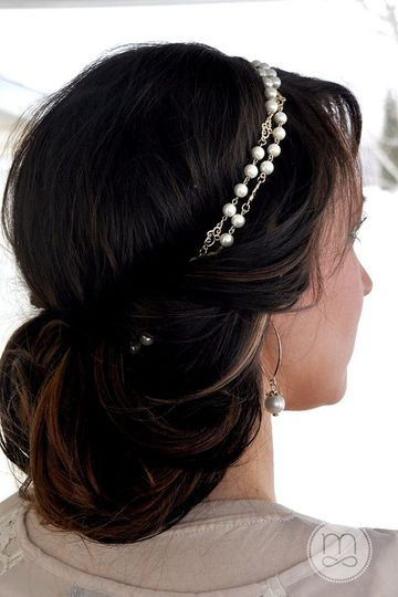 Precious Pearls - $53.00  This elegant updo is accented with the VersaStyle piece Precious Pearls....