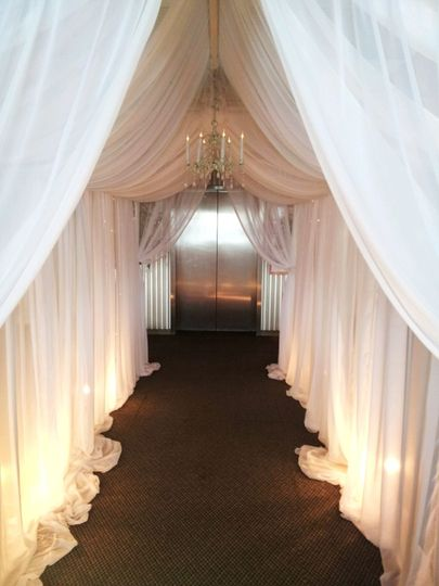 Draping & Lighting for ceilings and walls