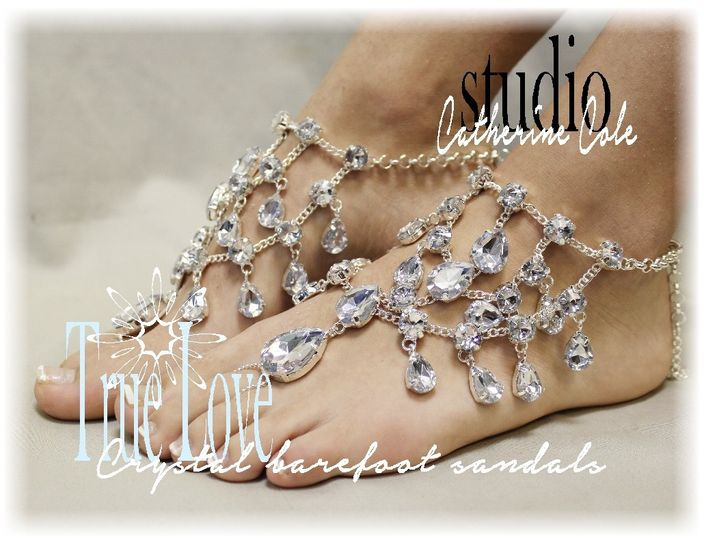 Wedding Barefoot Sandals by Catherine Cole - Dress & Attire ...