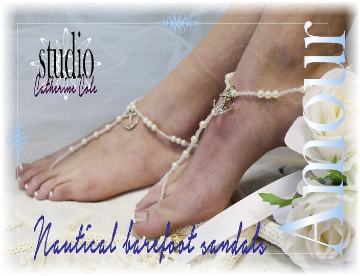 bf20 anchor amour nautical barefoot sandals foot j