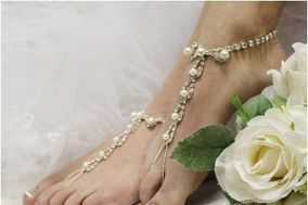 Wedding Barefoot Sandals by Catherine Cole