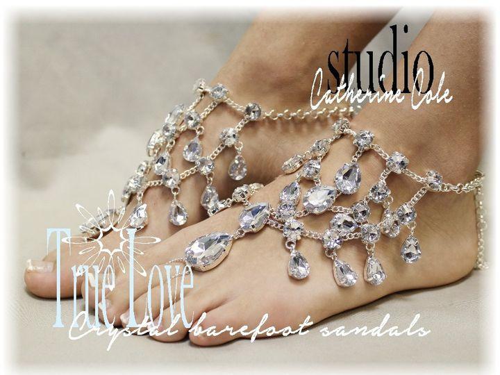 Tmx 1424112354626 Sj5 Crystal Clear Drops Chandelier Shoe Jewels Cat Mooresville wedding dress