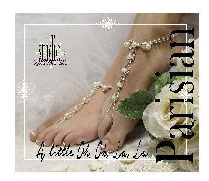 Tmx 1424112536372 Sj2 L Parisian Wedding Barefoot Sandals Beach Foot Mooresville wedding dress