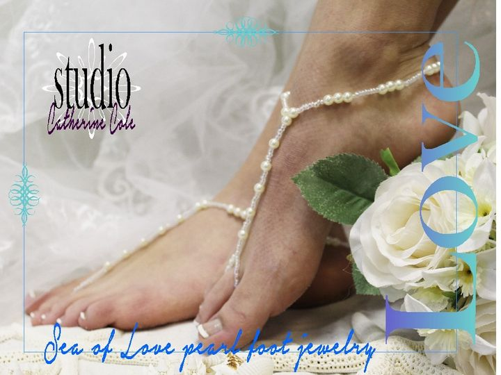 Tmx 1424112587051 Bf5 Pearl Bridal Wedding Shoe Jewelry Foot Jewelry Mooresville wedding dress