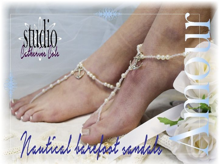 Tmx 1424112626320 Bf20 Anchor Amour Nautical Barefoot Sandals Foot J Mooresville wedding dress