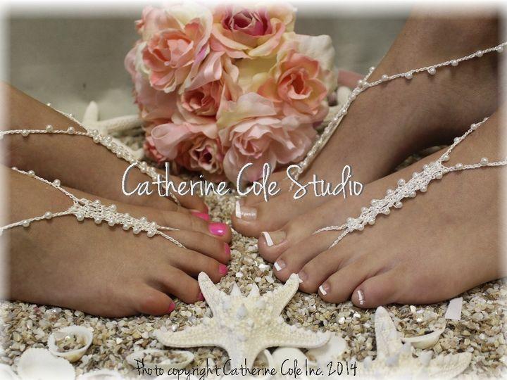 Tmx 1424112661917 Bf4 Crochet Barefoot Sandals Wedding Beach Bridal  Mooresville wedding dress