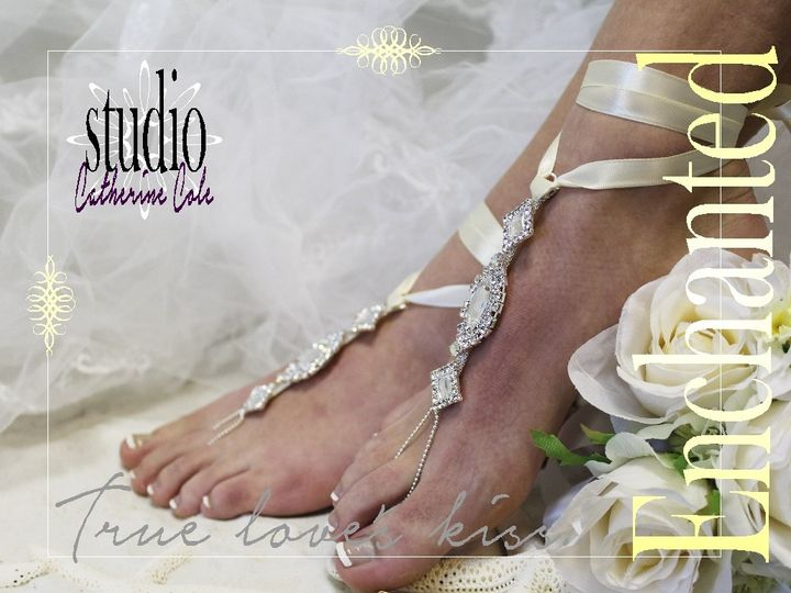 Tmx 1424112748517 Sj3 Ivory Enchanted Bride Rhinestone Bridal Foot J Mooresville wedding dress