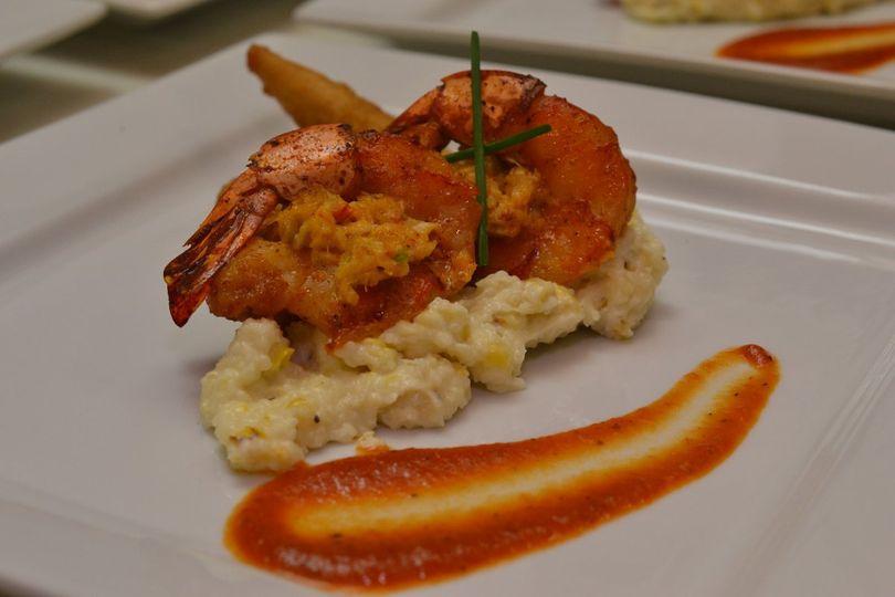 Shrimps plating