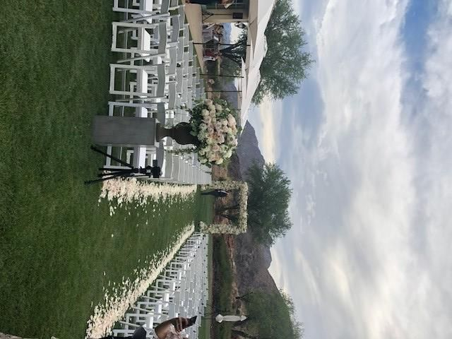 West facing Ceremony