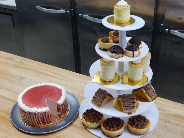 Chiffons, Brownie Cheesecake Tower