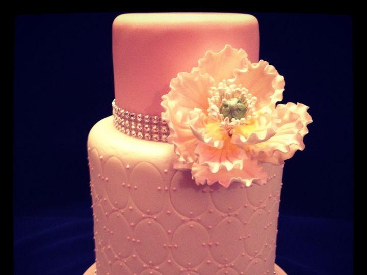 Tmx 1340901515545 IMG1937 Glen Rock wedding cake