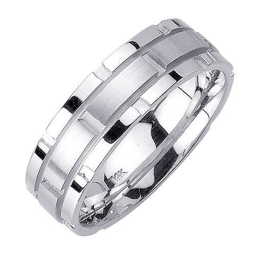 DiamondCutWeddingBandRing