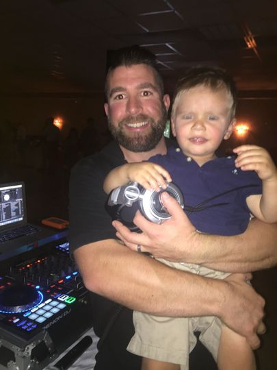 DJ and his boy