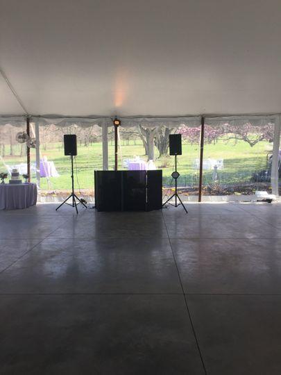 Simple DJ setup