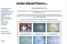 Jordan Almond Flowers