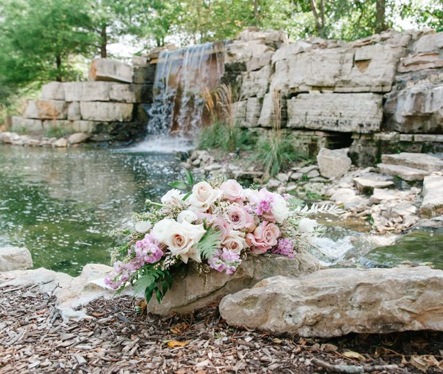 Waterfall backdrop