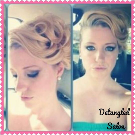 Detangled Salon Weddings On The Go