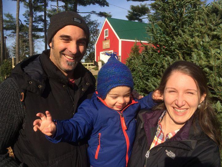 Familia en Diciembre