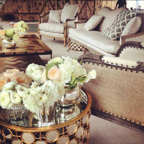 Plush couches