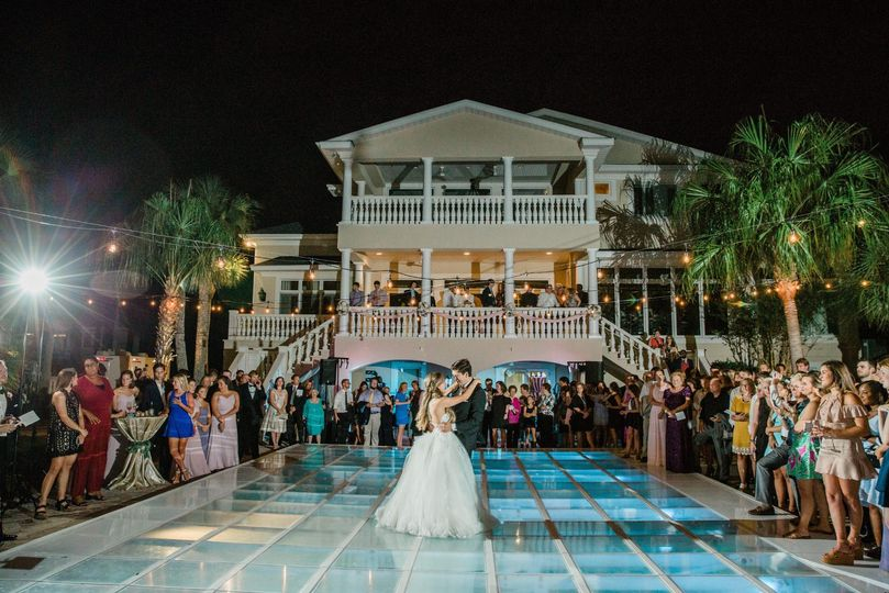Pool cover first dance