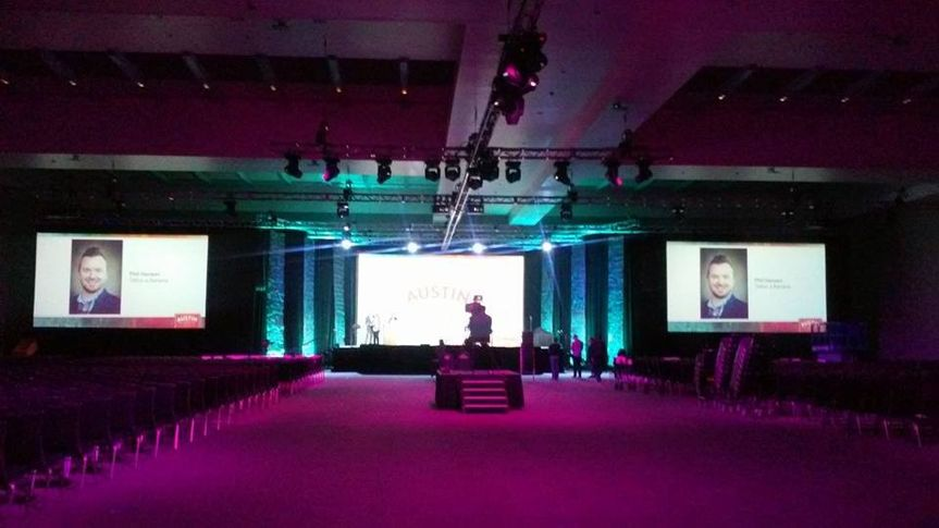 Landers Marshall provided the live music for the American Animal Hospital Association at the Austin...