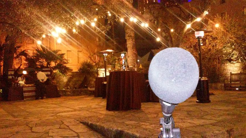 Live at the Alamo! A beautiful historical site in San Antonio, TX. We had the pleasure of working...