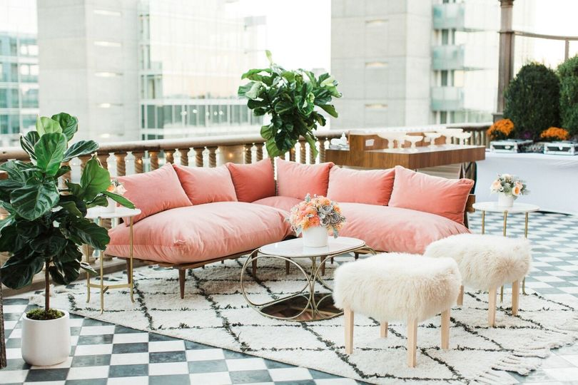We still can't get over these Rooftop lounge vibes designed by 23 Layers.